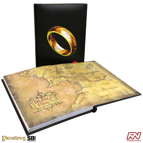 THE LORD OF THE RINGS: The One Ring Notebook with with Light
