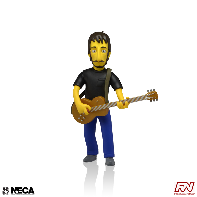 THE SIMPSONS 25th ANNIVERSARY: Pete Townshend (The Who) Collectible Action Figure