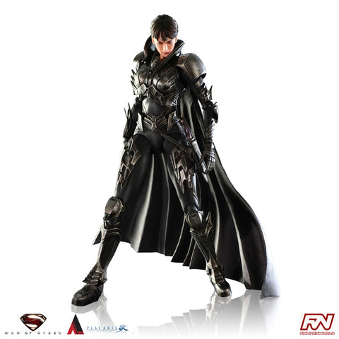 MAN OF STEEL: Faora-Ul Play Arts Kai Action Figure