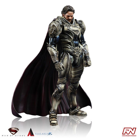 MAN OF STEEL: Jor-El Play Arts Kai Action Figure
