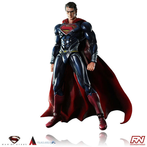 MAN OF STEEL: Superman Play Arts Kai Action Figure