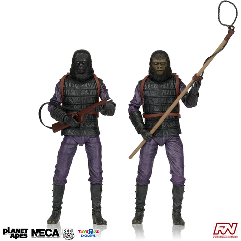 PLANET OF THE APES: Exclusive Gorrila Soldier 7-Inch Scale Action Figure 2-Pack