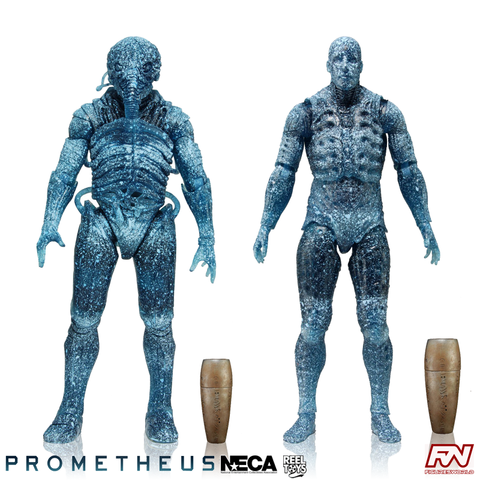 PROMETHEUS: Series 3 Holographic Engineer 7-Inch Scale Deluxe Action Figure Set