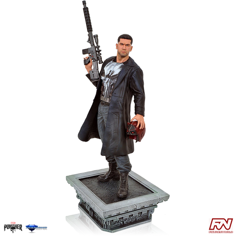 MARVEL GALLERY: Punisher Netflix TV PVC Diorama