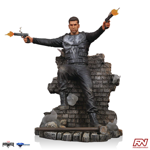 MARVEL GALLERY: Punisher Season 1 Netflix TV PVC Diorama