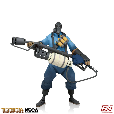 Team Fortress 2: BLU Pyro 7-Inch Scale Deluxe Action Figure