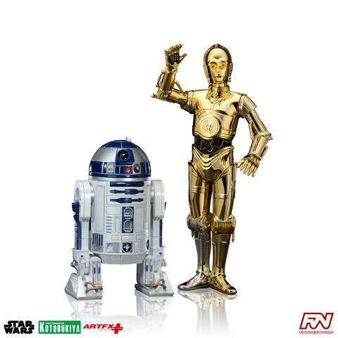 STAR WARS: C-3PO & R2-D2 ArtFX+ Statue Two Pack
