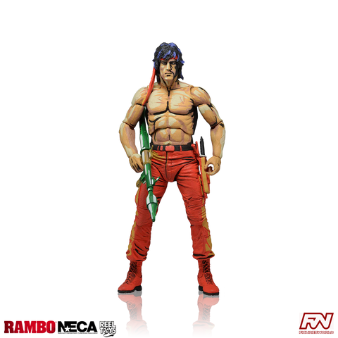 RAMBO: Rambo (Classic Video Game Appearance) 7-Inch Scale Action Figure