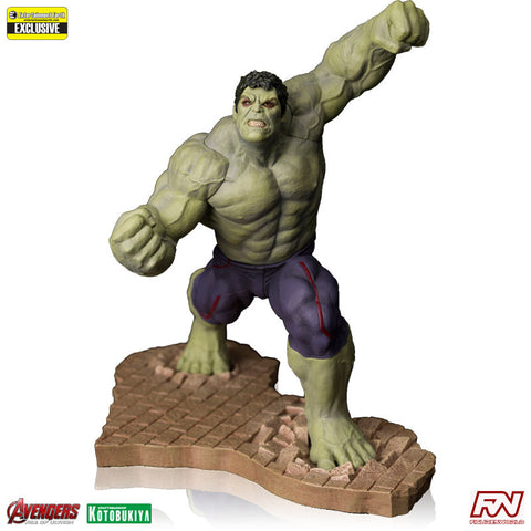 AVENGERS: AGE OF ULTRON Rampaging Hulk EE Exclusive ArtFX+ PVC Statue