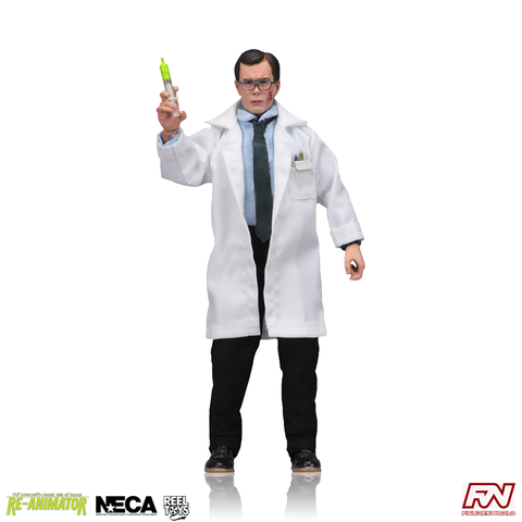 RE-ANIMATOR: Herbert West 8-Inch Clothed Action Figure
