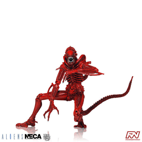 ALIENS SERIES 5: Xenomorph Warrior (Red) Action Figure