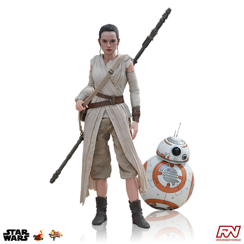 STAR WARS: Rey and BB-8 1:6 Scale Movie Masterpiece Figure Set