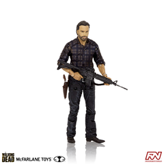 THE WALKING DEAD: TV Assortment 2015: Woodbury Assault Rick Grimes Action Figure