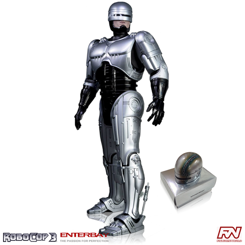 ROBOCOP 3: RoboCop 1:4 Scale HD Masterpiece Figurine