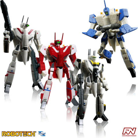 ROBOTECH: Veritech Fighter 1/100 Transformable Action Figure Set