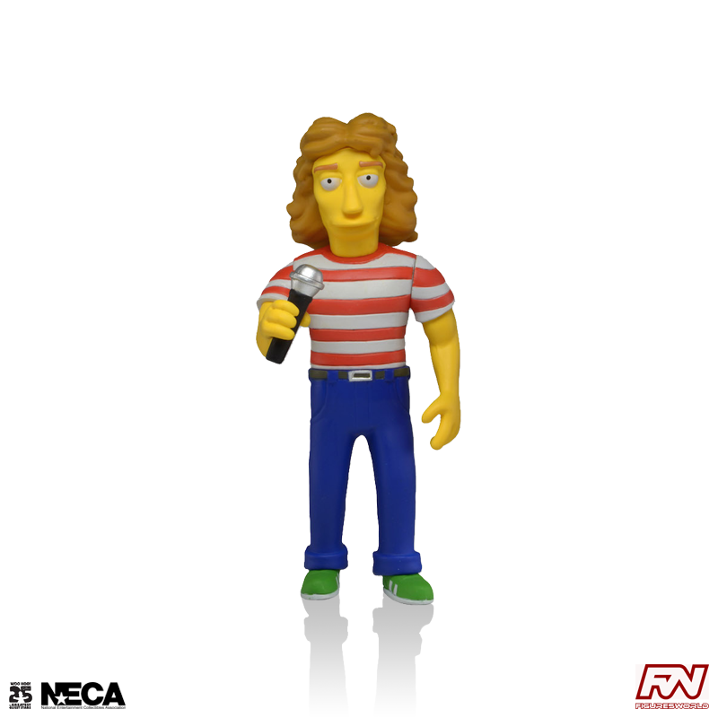 THE SIMPSONS 25th ANNIVERSARY: Roger Daltrey (The Who) Collectible Action Figure