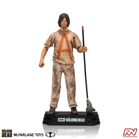 THE WALKING DEAD: Savior Prisoner Daryl 7-Inch Figure Color Tops Series