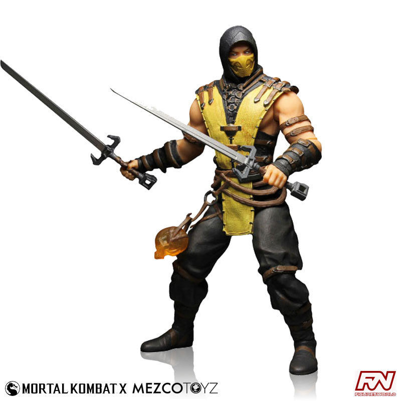 MORTAL KOMBAT X: Scorpion 12-Inch Figure