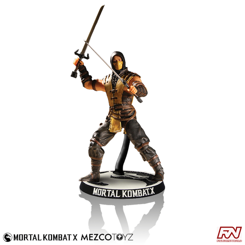 MORTAL KOMBAT X: Scorpion 4-Inch Figure