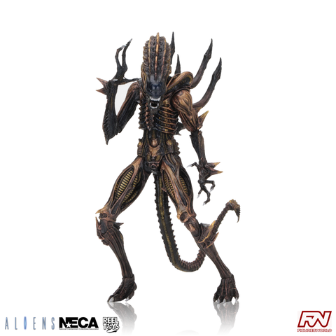 ALIENS: Series 13 Scorpion Alien Kenner Tribute Action Figure with Mini-Comic Book