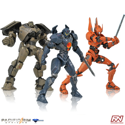 PACIFIC RIM UPRISING: Select Series 1 Action Figure Set of 3