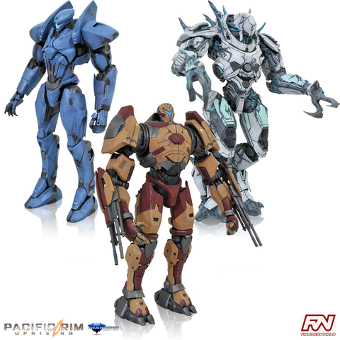 PACIFIC RIM UPRISING: Select Series 3 Action Figure Set of 3