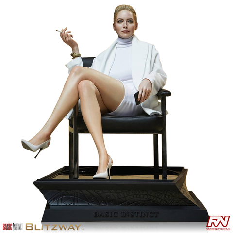 PRE-ORDER: BASIC INSTINCT 1992: Sharon Stone - Superb Scale Statue, (1/4 scale) Hybrid type