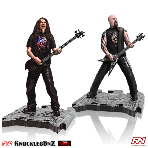 ROCK ICONZ: SLAYER Statue Set
