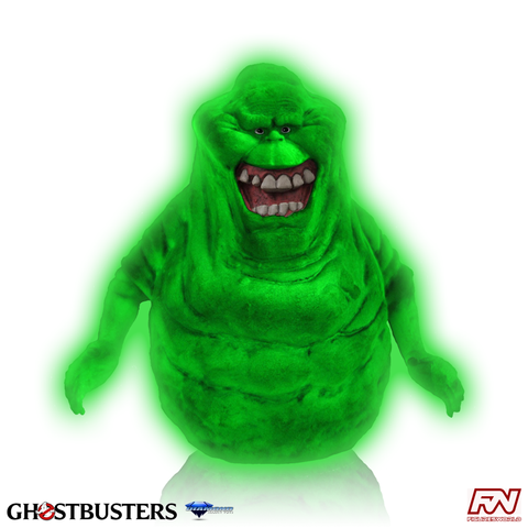 GHOSTBUSTERS: Glow in the Dark Slimer Vinyl Bank