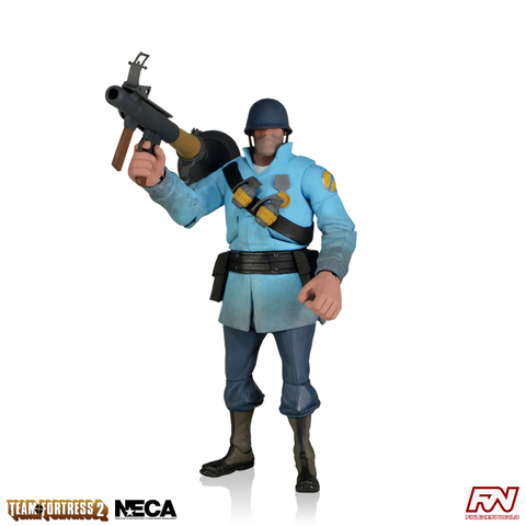Team Fortress 2: BLU Soldier 7-Inch Scale Deluxe Action Figure
