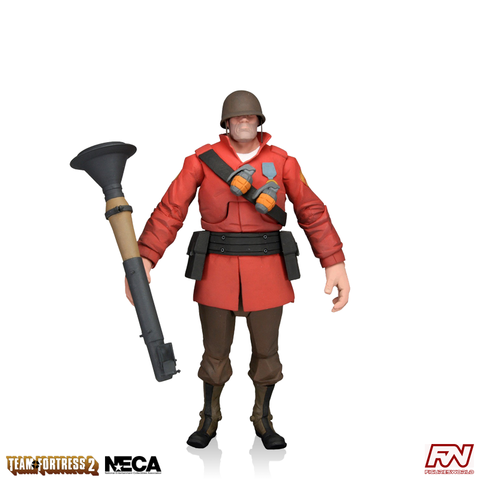 Team Fortress 2: RED Soldier 7-Inch Scale Deluxe Action Figure