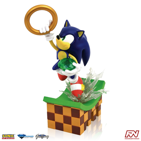 SONIC THE HEDGEHOG GALLERY: Sonic PVC Diorama