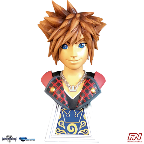 KINGDOM HEARTS 3: LEGENDS IN 3D Sora 1:2 Scale Resin Bust