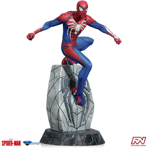 MARVEL VIDEO GAME GALLERY: Spider-Man PVC Diorama