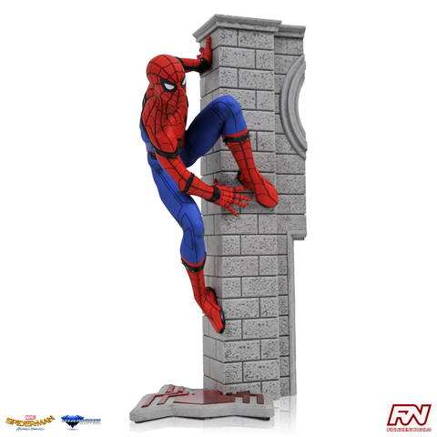 MARVEL MOVIE GALLERY: Spider-Man Homecoming PVC Diorama