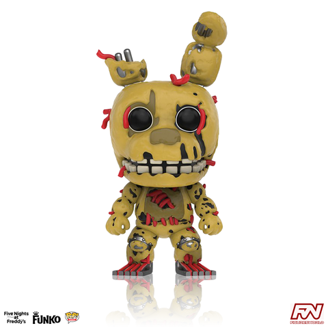 POP! GAMES: FIVE NIGHTS AT FREDDY'S - Springtrap (#110)
