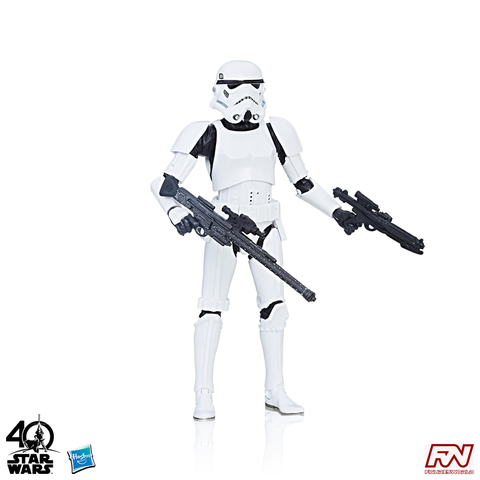 STAR WARS: The Black Series 40th Anniversary Stormtrooper 6-Inch Action Figure