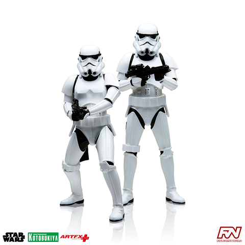 STAR WARS: Stormtrooper ArtFX+ Two Pack