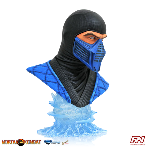 LEGENDS IN 3D MORTAL KOMBAT: Sub Zero 1:2 Scale Bust