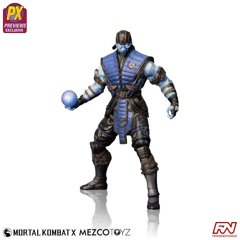 "MORTAL KOMBAT X: Sub-Zero ""Ice"" Variant Exclusive Action Figure"
