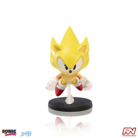 Sonic The Hedgehog BOOM8 Series Super Sonic 4-Inch Collectible PVC Figure