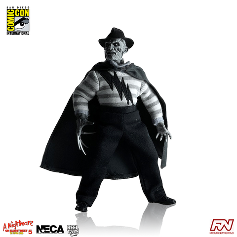 A NIGHTMARE ON ELM STREET 5: SDCC Exclusive: Super Freddy Retro 8-Inch Clothed Action Figure