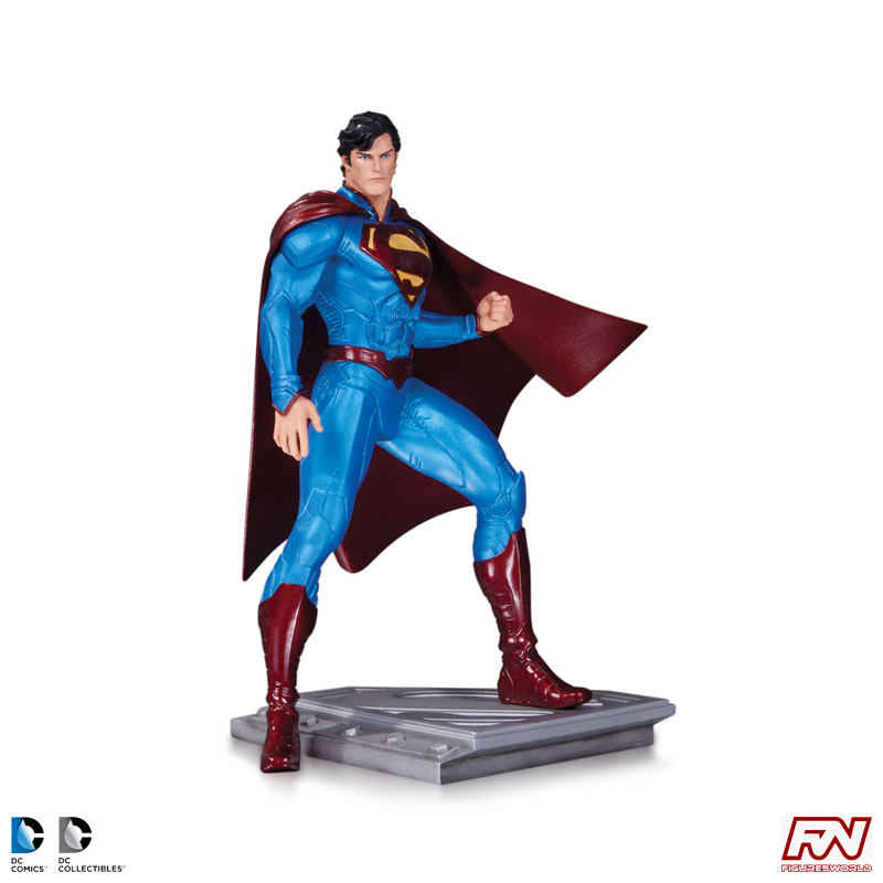 DC COMICS: SUPERMAN THE MAN OF STEEL: Superman Statue by Cully Hamner