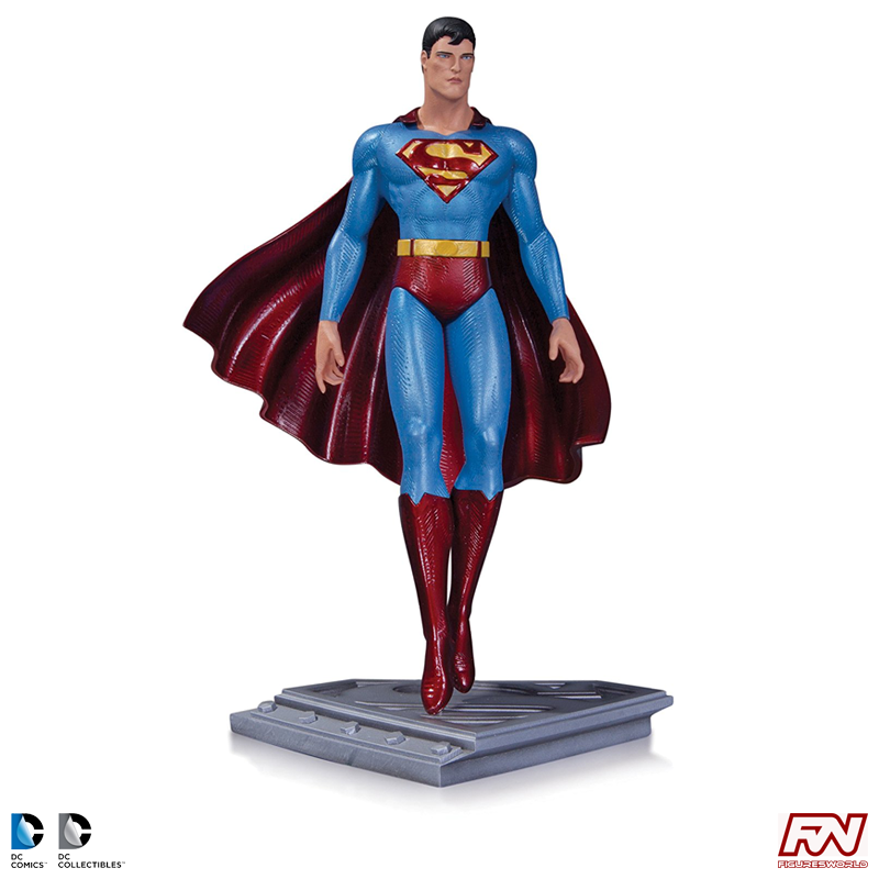 DC COMICS: SUPERMAN THE MAN OF STEEL: Superman Statue by Moebius