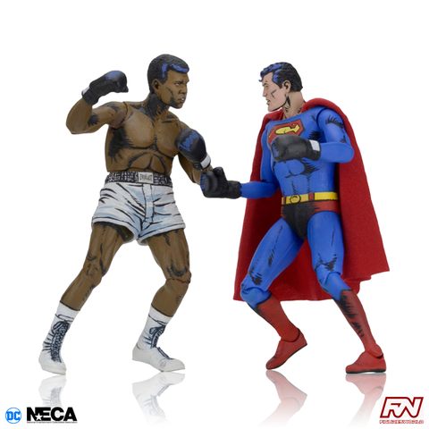 DC COMICS: Superman VS Muhammad Ali Special Edition Action Figure 2-Pack