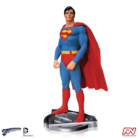 SUPERMAN THE MOVIE: Christopher Reeve as Superman Statue
