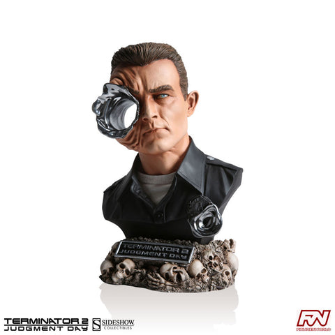 TERMINATOR 2: JUDGMENT DAY: T-1000 Legendary Scale Bust