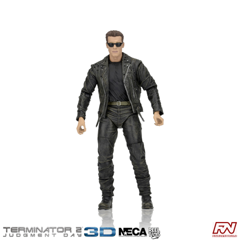 TERMINATOR 2: T-800 (25th Anniversary 3D Release) 7-Inch Scale Action Figure
