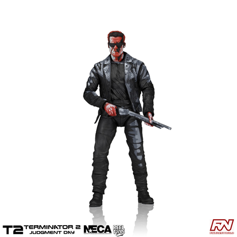 TERMINATOR 2: T-800 Classic Video Game Appearance 7-Inch Scale Action Figure