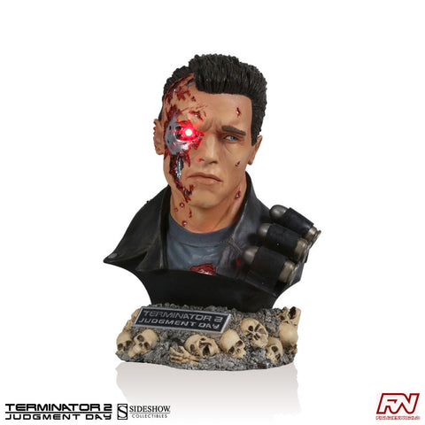 TERMINATOR 2: JUDGMENT DAY: T-800 Legendary Scale Bust